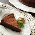 ずっしり濃厚!板チョコ4枚で作る贅沢♡生チョコケーキ