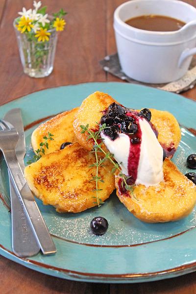 時短フレンチトースト4品☆休日の朝食に・・・