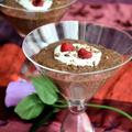 チョコレートムース風 チアシードプディング