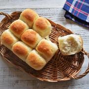 30分で魔法のパン*ヨーグルトちぎりパンー型不要*保存容器で作る