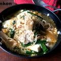 【調味料3つ!】焼肉のたれで*ユッケジャン風豚もやし豆腐スープと焼肉のたれレシピまとめ