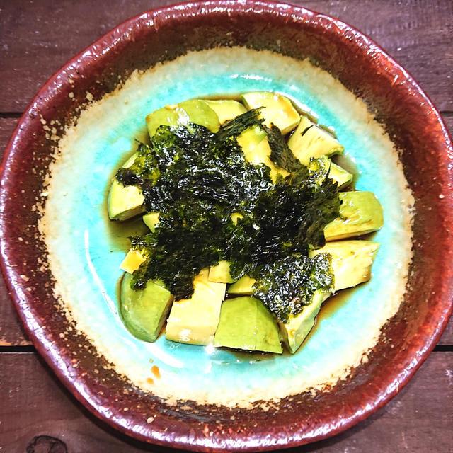 読み疲れしないブログ、簡単2分、アボカド韓国海苔のせ(ダイエット、美容)