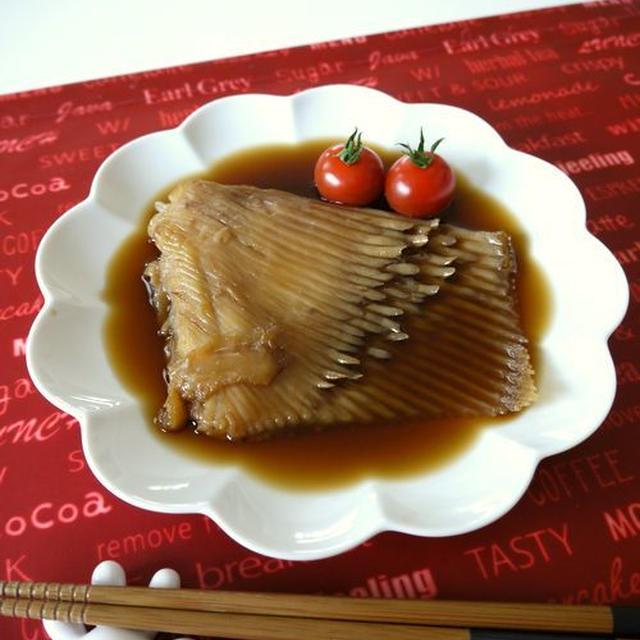 【簡単レシピ】かすべの煮付け♪