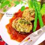 豆腐と大和芋で、イタリア~ンな椎茸ファルシ♪