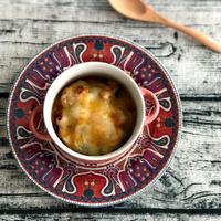 【GABAN煮込み用調味料】で『バスク風鶏肉のトマト煮グラタン』★スパイス大使