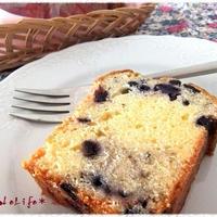 爽やかぷちぷち、ワイルドブルーベリーケーキのレシピです