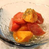 解放保育園++レシピ:トマトのハーブマリネ++