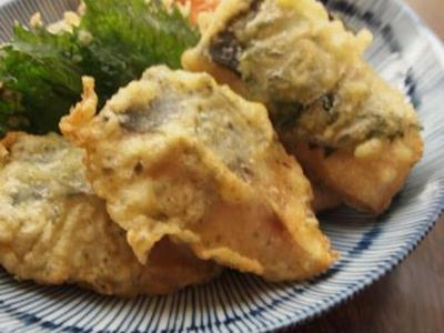 >塩鯖の天麩羅2種 by あぽろママさん