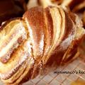 パイシートでデニッシュ風ミニ食パン
