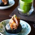 こってり豚肉のスタミナぱっかんおにぎり 旨くてお野菜も摂れる by 青山 金魚さん