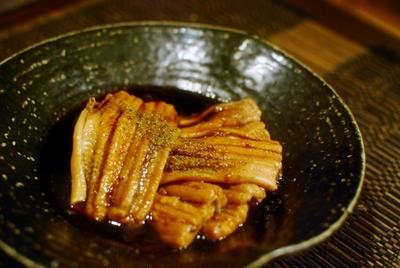 ほどける柔らかさの絶品 煮アナゴ
