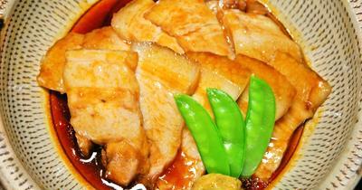 豚バラ肉のケチャップ煮