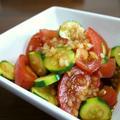 【レシピ動画】トマトとズッキーニの中華サラダ♪