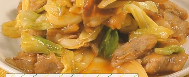 【動画レシピ】家にある調味料で本格的な味に!「キャベツ回鍋肉」