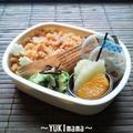 万能ナポリタンソースでチキンライス~いちばんのお弁当~ by YUKImamaさん