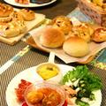 チキンカチャトーラプレートランチ☆みんなでパン作り