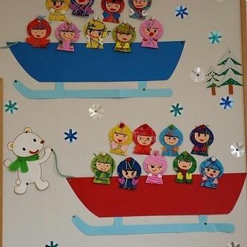 冬の室内装飾(年長)