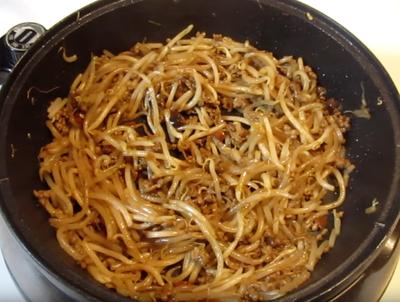 「キッコーマン うちのごはん もやしのねぎ味噌炒め」でもやしのねぎ味噌炒めを作ってみた