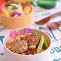 高野入り肉団子のトマトソース丼と合挽き肉の3種のストック