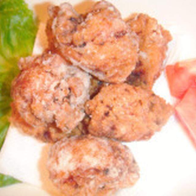鶏の唐揚げと、タルタルソースのレシピ