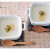 北海道「北の大豆」豆乳で 美味しいお豆腐をレンジでチン♪