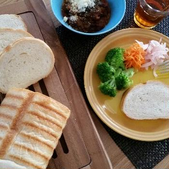 ココナッツオイルのパン