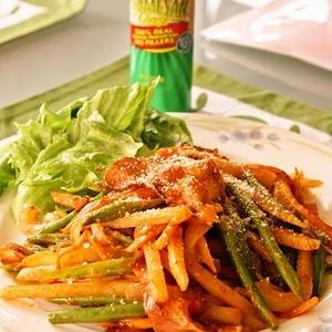 昔懐かしいあの味!スパゲティ以外でも良く合う「ナポリタン風おかず」