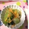 わさびと山椒が香る青梗菜の煮浸し