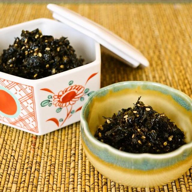 【大葉(青しそ)の佃煮】夏の収穫 ご飯が進む保存食