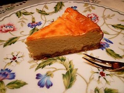 おとうふ&ヨーグルトのヘルシーチーズケーキ