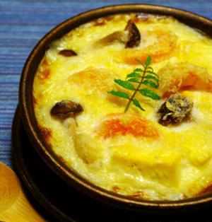 長芋と豆腐の和風グラタン☆マカロニじゃなくてうどん入り♪:サクランボ収穫合計5kg!