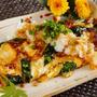 ■【簡単!!5分 モッツアレラチーズとほうれん草入りの卵焼き 】です♪