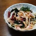 さっぱり&コリコリ、手軽な沖縄(笑):ミミガーの酢の物