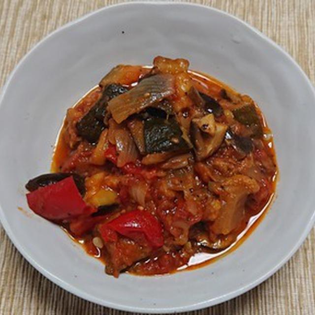 ラタトゥイユ風野菜のトマト煮