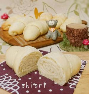 ☆ レンジ発酵*1時間で捏ねないフワフワ塩パン&新しい趣味*ポーセラーツ♪。