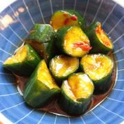 簡単常備菜レシピ。ピリ辛きゅうりの浅漬けの作り方
