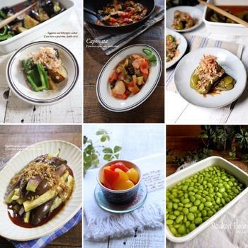 夏野菜の作り置きレシピ10選♡【#簡単レシピ#作り置き】