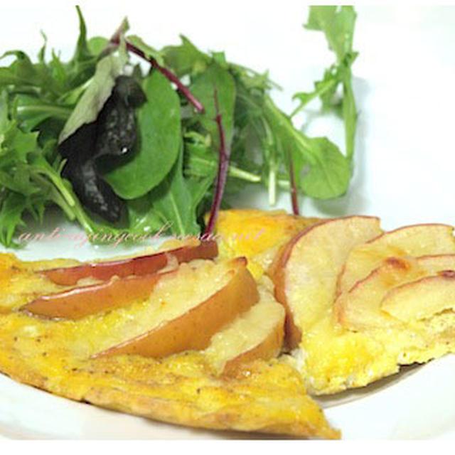 朝食メニューでも夕食にも使えるりんごのおかず〜腸内フローラを整えたい