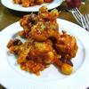 鶏肉とミックスビーンズのメキシカントマト煮込み