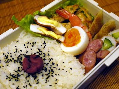 7月20日 鶏むね肉のマヨぽん葱焼き弁当 & 『嵐にしやがれ』のとろとろ茶碗蒸し