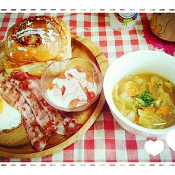 朝ごはん*脂肪燃焼スープ*