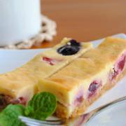 アメリカンチェリーとブルーベリーの スティックチーズケーキ ☆
