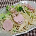 ブロッコリーと漬物のスパサラダ by Amaneさん