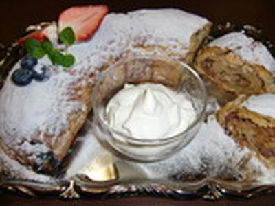 アプフェル・シュトゥルーデルの作り方。 林檎タルトのレシピ