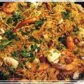 スペインの鍋料理♪✤フィデウア(fideua)♡パスタ