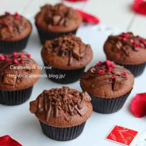 バレンタインに作りたい!チョコレ―トやココアで「お手軽マフィン」5選