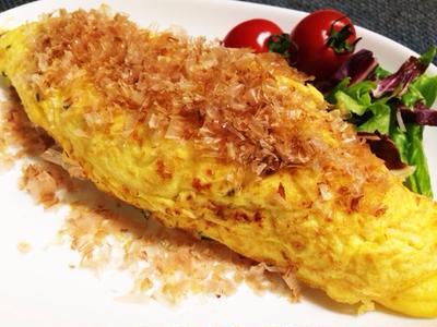 朝食にも♪納豆オムレツ