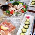 ◆川中島白桃で桃サラダのおうちごはん♪ by fellowさん