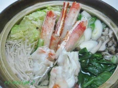 カニすき&カニ雑炊♪
