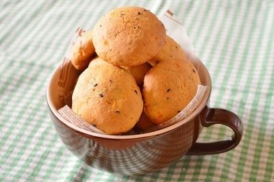 ホットケーキミックスで!簡単お菓子「かぼちゃクッキー」